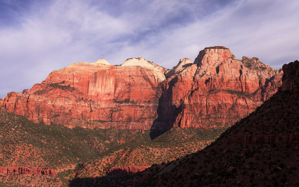 Zion Red Wall