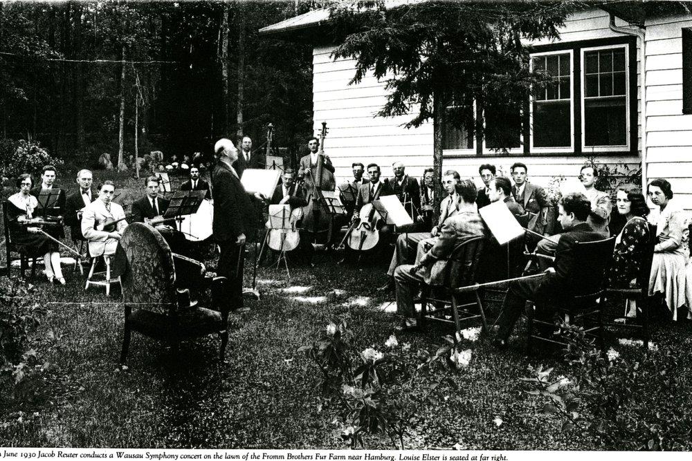 Photo courtesy of the Marathon County Historical Society.