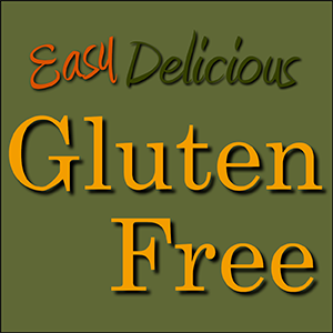 Easy Delicious Gluten-Free Cookbooks are available on Amazon and at the Apple iBooks store. -