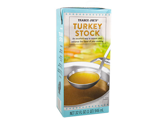 Trader Joe's Turkey Stock Easy Gluten-Free Cooking
