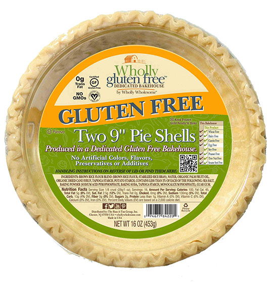 Wholly gluten free frozen pie crust Easy Gluten-Free Cooking