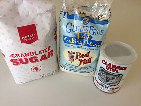 Bob's Red Mill 1-for-1 gluten-free flour Easy Gluten-free Cooking