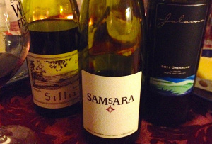 Thursday's Bottle Redux, starring Sillix, Samsara and Jalama grenaches