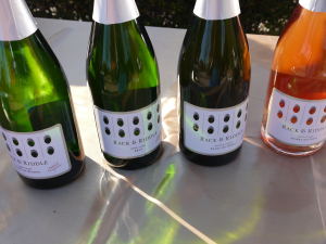 While I tasted all four of these Rack and Riddle bubblies, the Blanc de Noirs gets my top vote