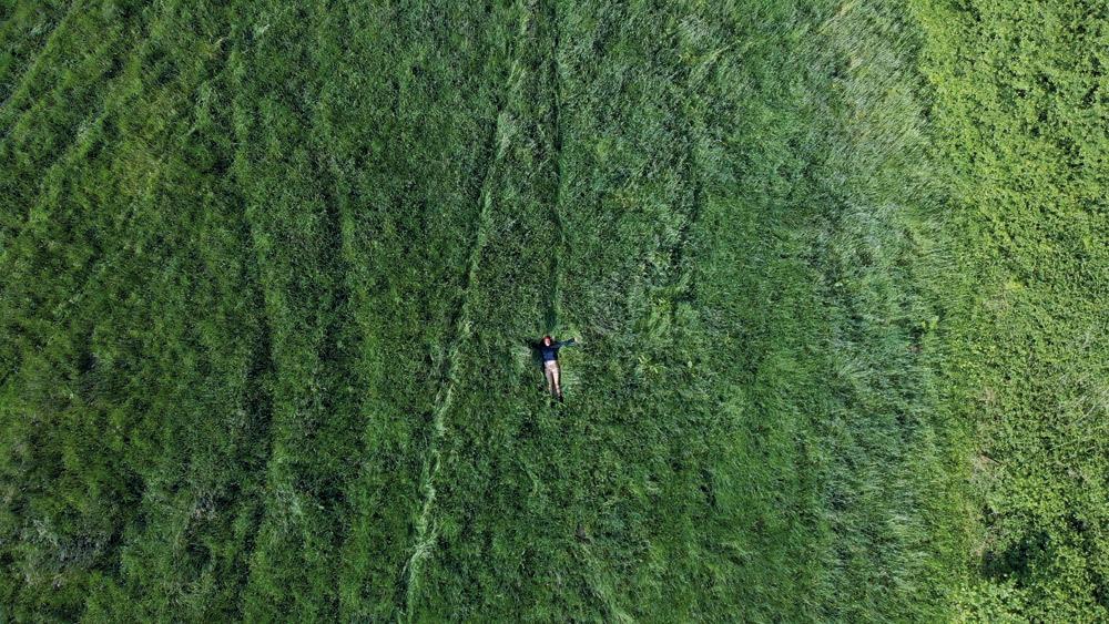 Un dron sobre Natalia Gantiva