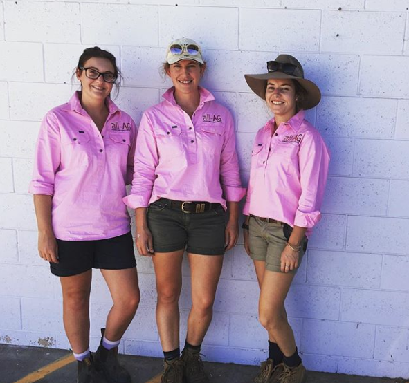 Our Team - Natalie Ercket, Johanna Morgan, Charleton Glenn