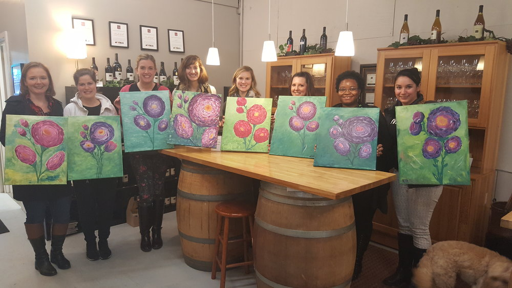 Member Paint and Sip Social (2016)