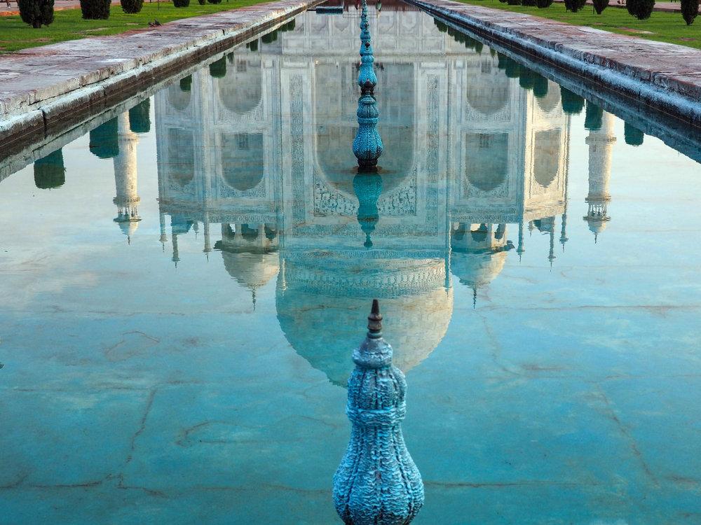 Reflection of the Taj