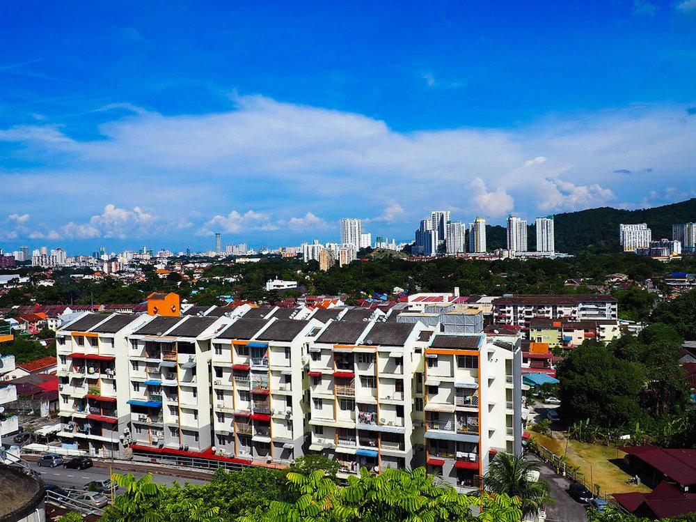 Penang rooftops