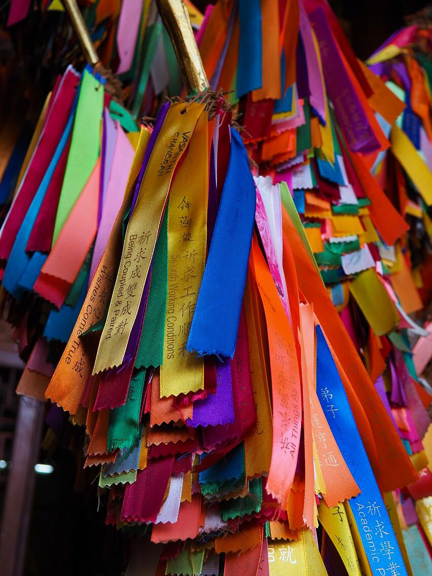 Prayer ribbons