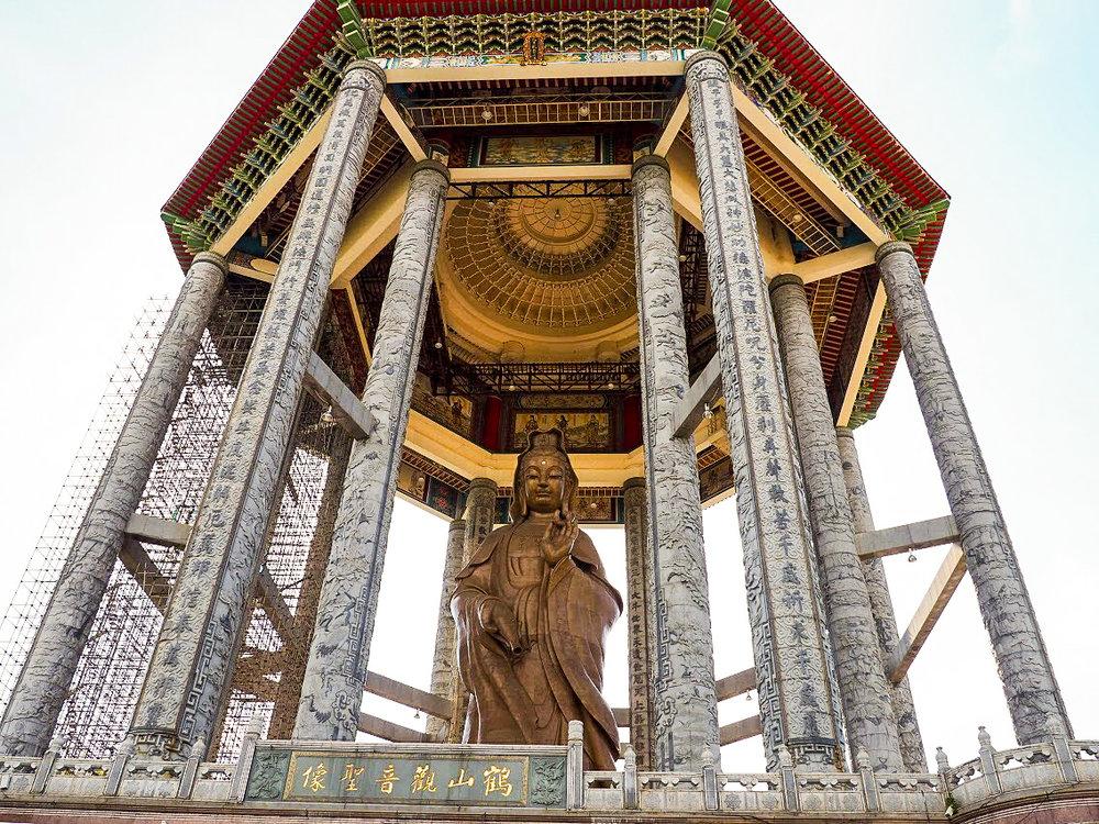 Guanyin (Goddess of Mercy), 99 ft tall