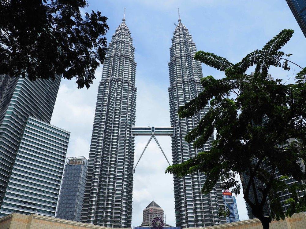 The iconic Petronas