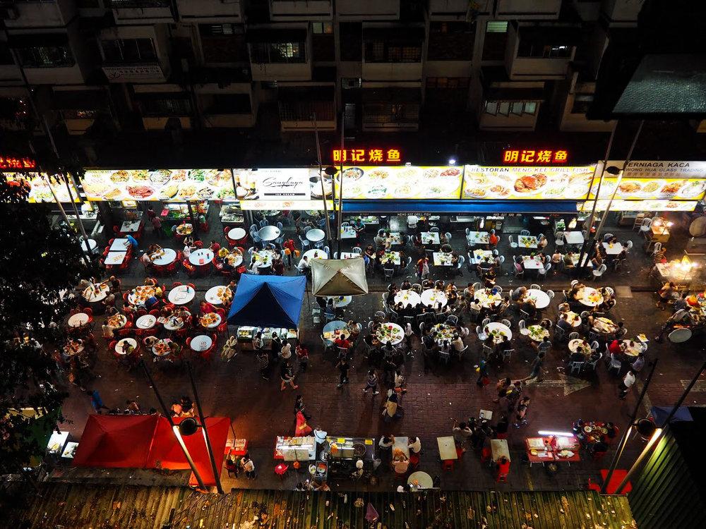 Jalan Alor food haven