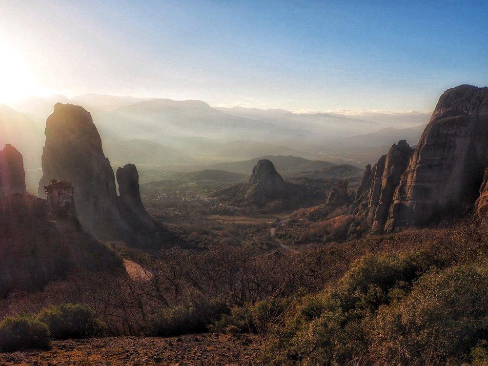 Meteora is fantasy land on Earth