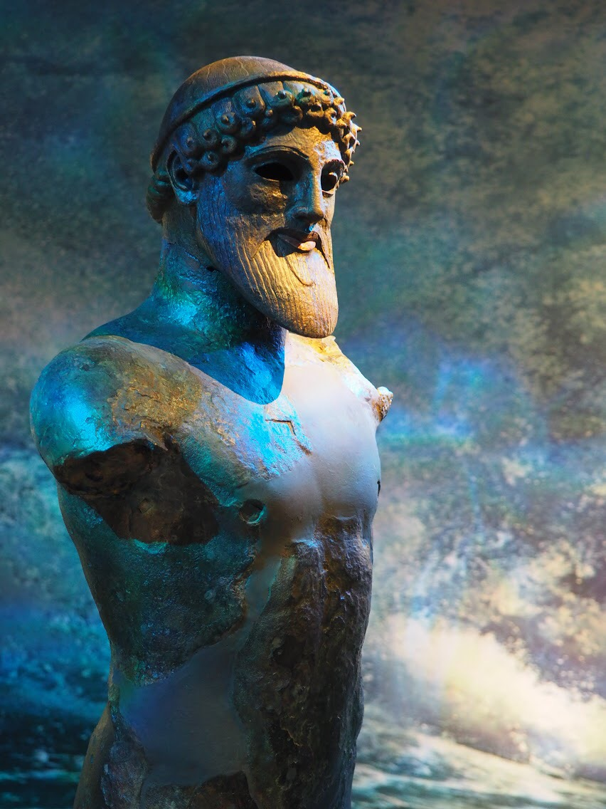 Poseidon at the National Archaeological Museum