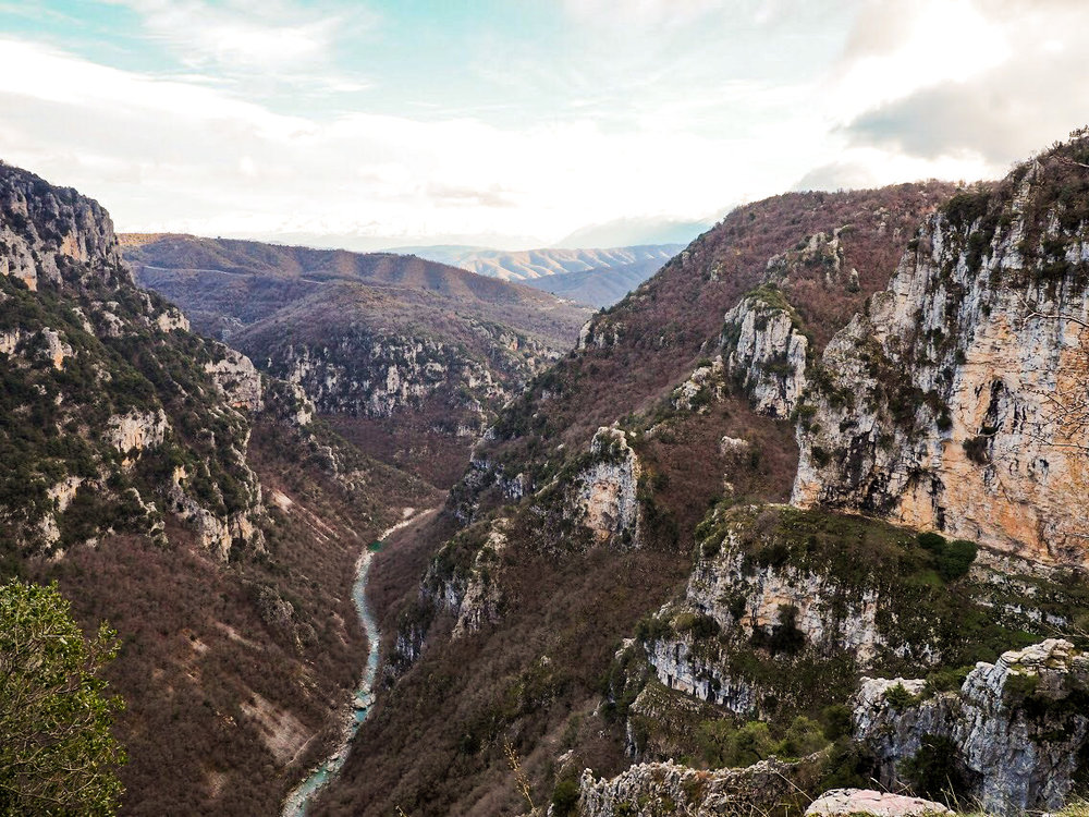 Vikos gorge is the deepest gorge in the world according to the Guinness Book 1997, but the locals know it still is