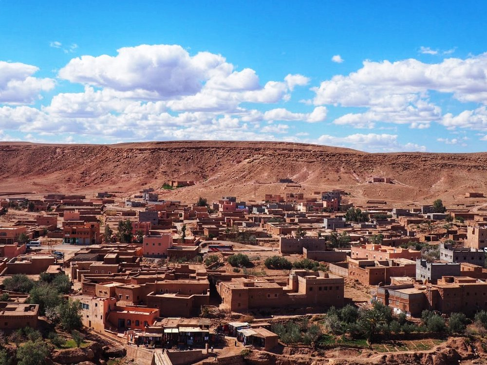 The village of Ait Benhaddou