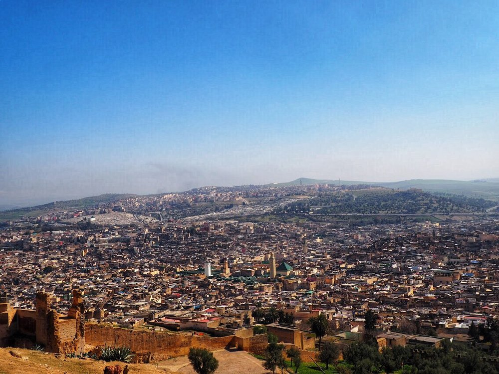 Fes like a postcard