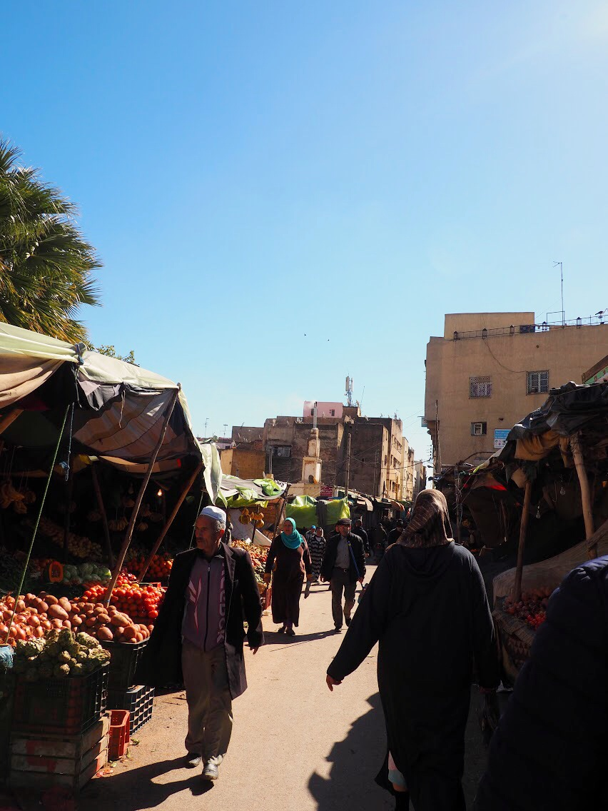 Shopping at the souk (market)