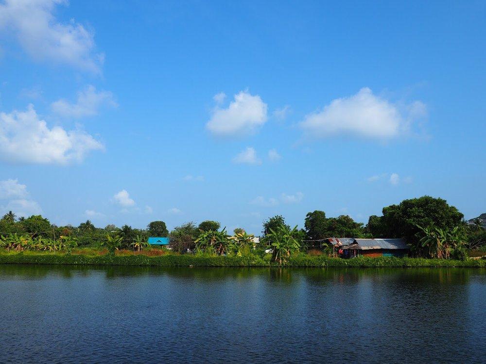 Peaceful little village