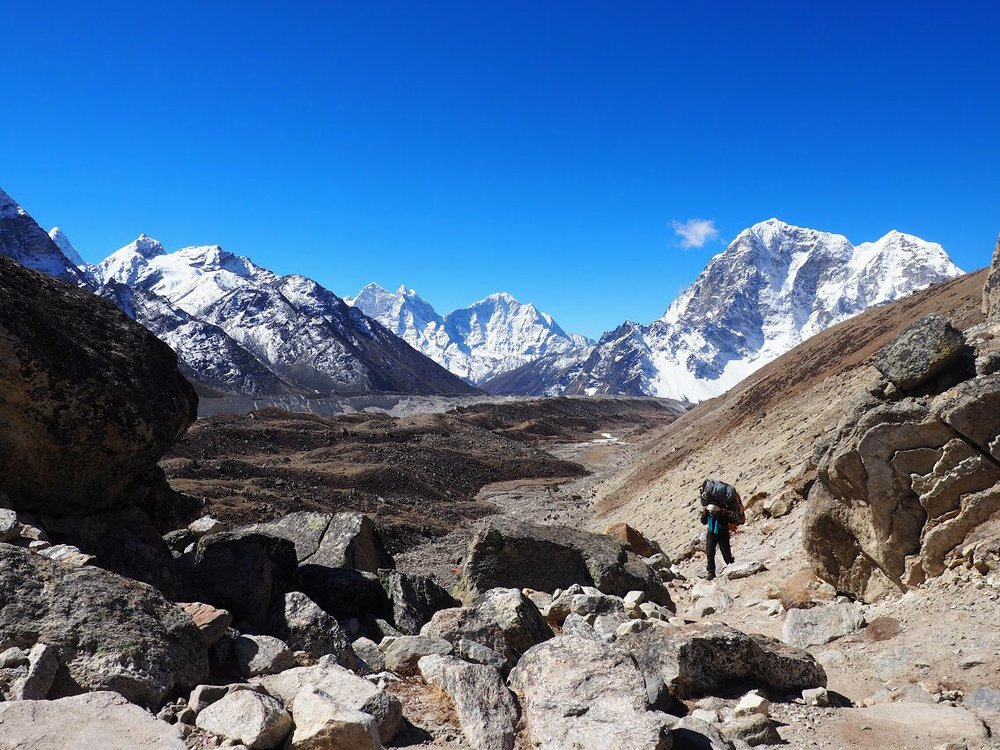 """If the day starts and ends at the same elevation, then the traverse was """"Nepali flat"""""""