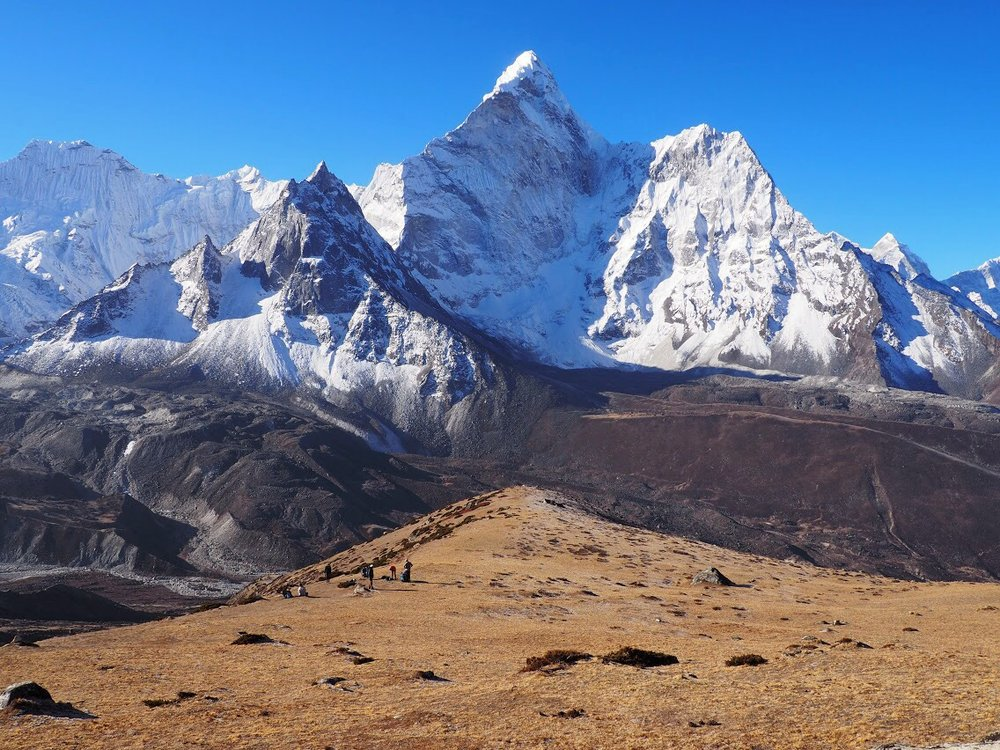 Ama Dablam is the most beautiful mountain I've ever seen