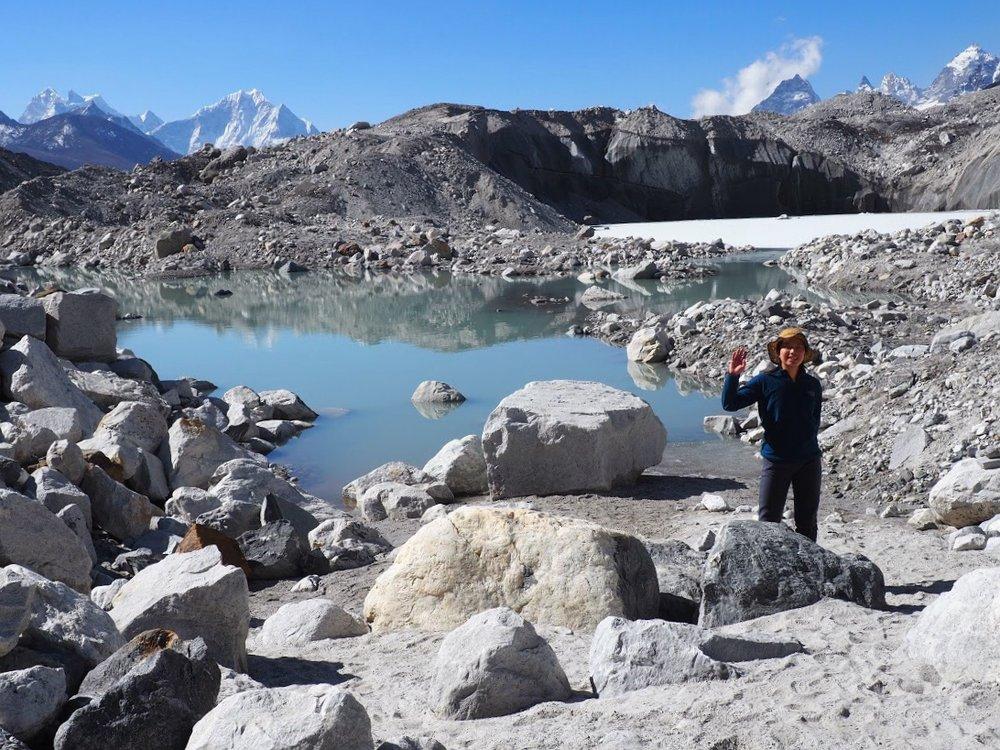 Glacial habitat supports a surprising life form