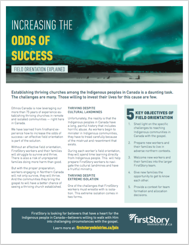 FirstResponders 2018 Q4 - Increasing the Odds of Success