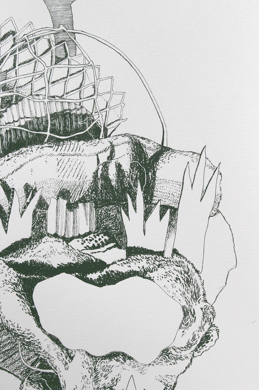 Kotare – detail