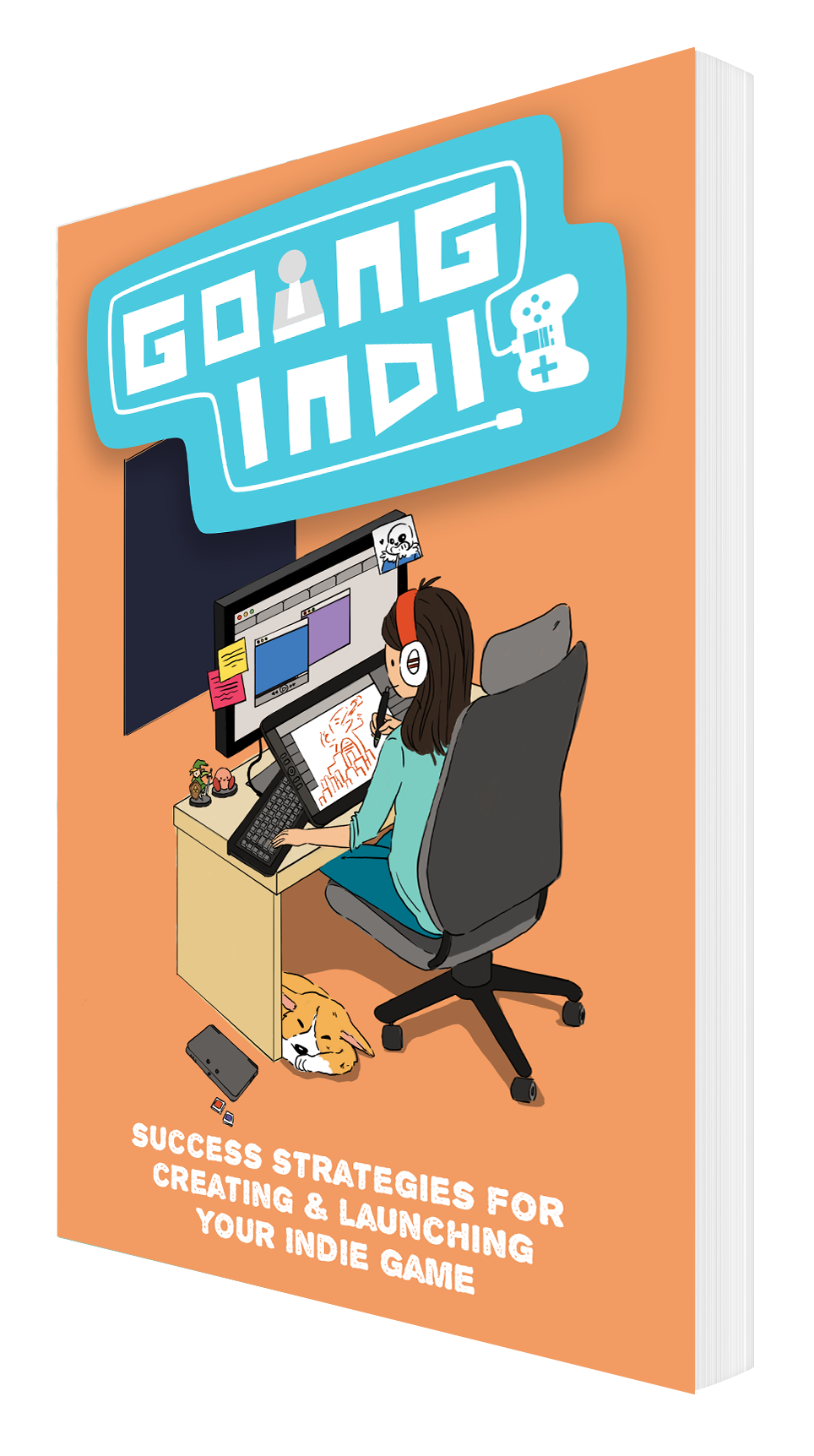 Going Indie! - Progress on my joint nonfiction project with David Jagneaux charges forward! Head over to the website and join our mailing list to get the FREE Cheatcodes For Gamedevs PDF..
