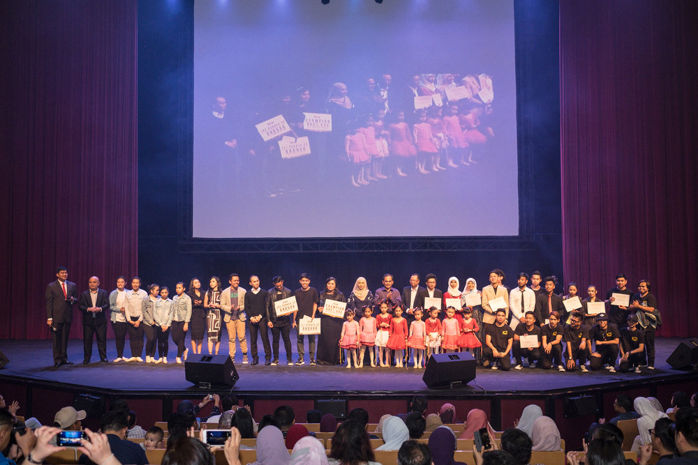 """""""Congratulations on your Spotlight event! Siuk and sepatutnya mesti ada every year! Kudos to all LMbn"""" - Waqi [for The Spotlight Event, 30 December 2017 @ JIS Arts Centre]"""
