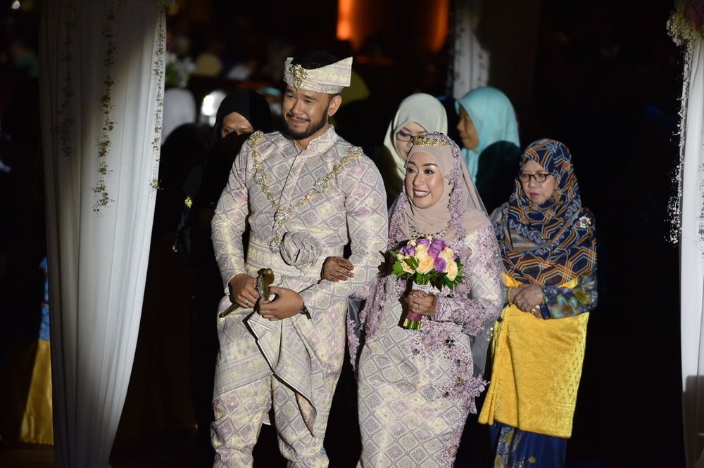 """""""Thank you to you and your team! Alhamdulillah everything went well as we had hoped and were really happy with the outcome of the whole wedding. It has been lovely meeting you guys and it was worth my panicking and contacting you 4 months ago!""""  - Norul"""