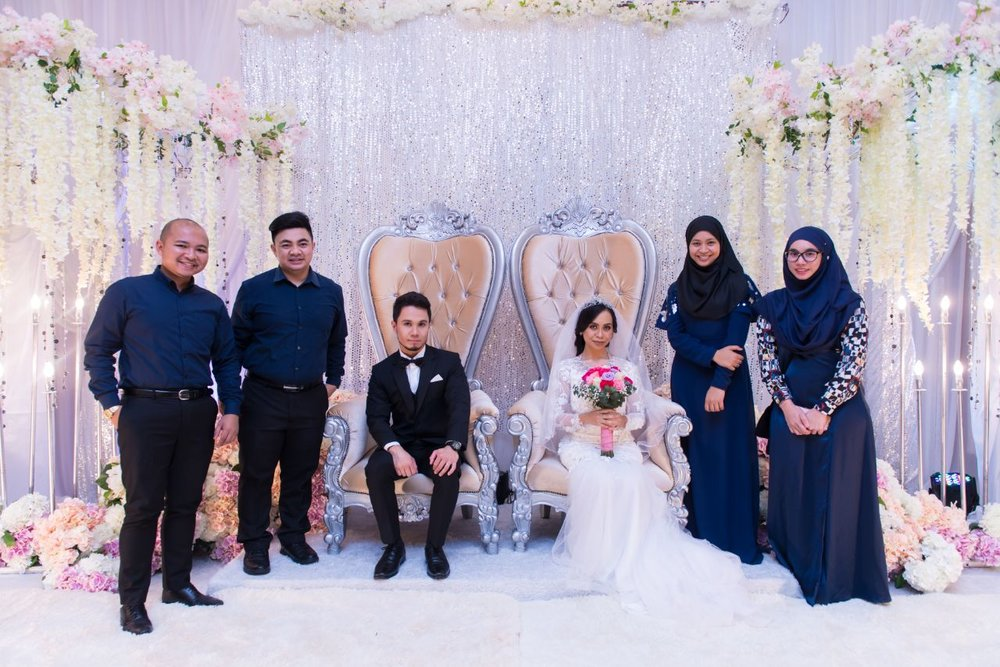 """""""Thank you LivingMoments. We think it went well. We're really happy we chose you and it was the best decision we made. Couldn't have done it without you all!""""  - Salihin"""