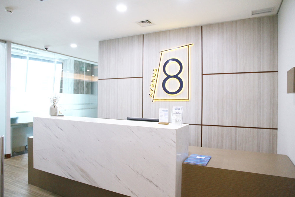 avenue8 reception