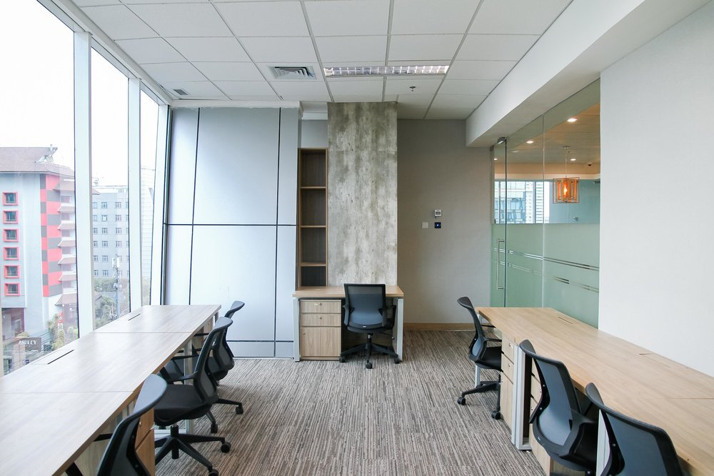 10 Person private office with cbd views