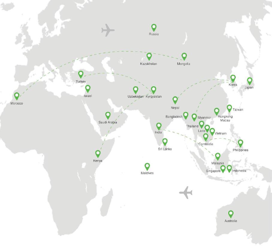 1. Mapa mundial de voluntariado - Un proyecto encabezado por miembros jóvenes de Corea, que busca resaltar y enfatizar las muchas oportunidades de voluntariado que se pueden encontrar en todo el mundo. Los coreanos continúan a estar comprometidos con esta causa.