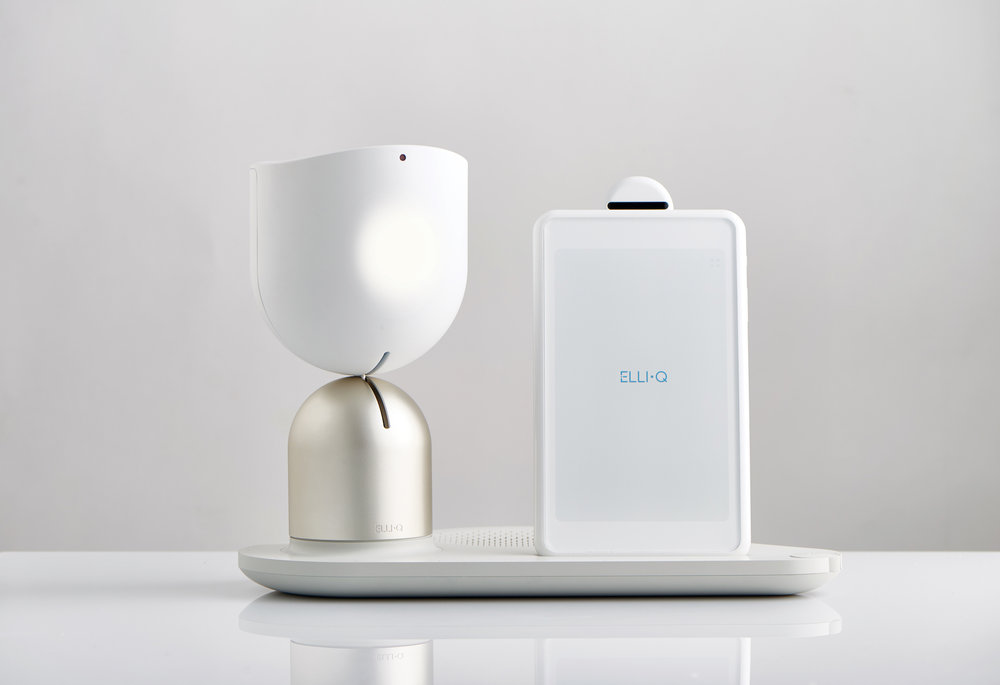 INTUITION ROBOTICS FIRST PRODUCT, THE ELLIQ