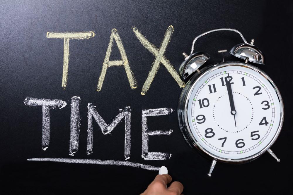 Tax Time Chalk 2017-06-24