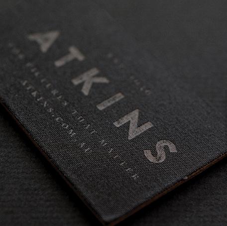 Simple Black Linen