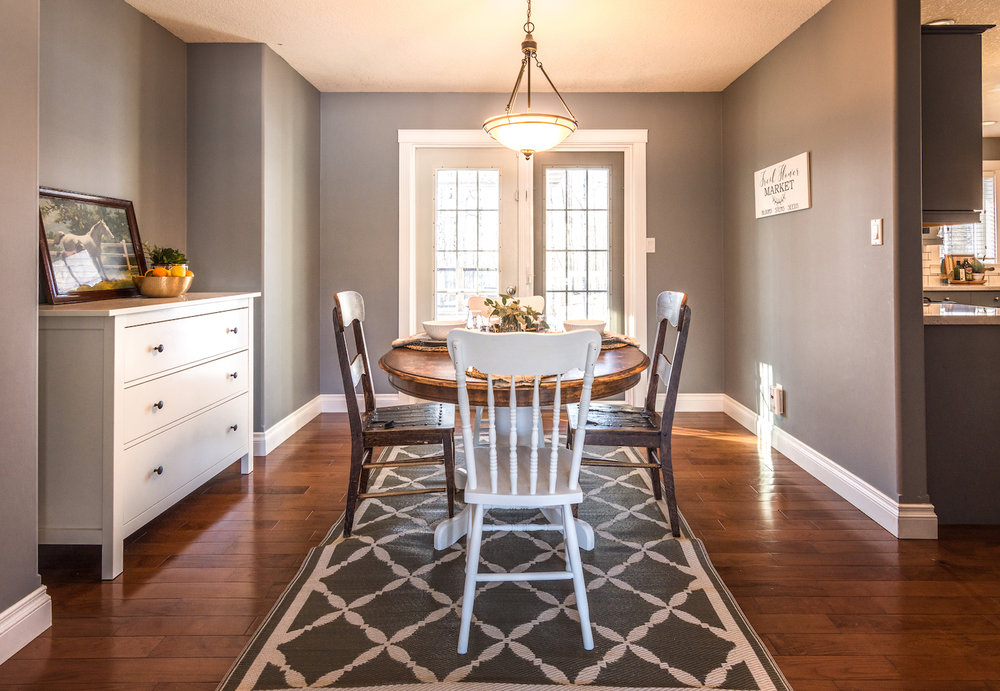 Professionally staging your home for a sale is more cost effective then the first asking price reduction of a home that has sat on the market.