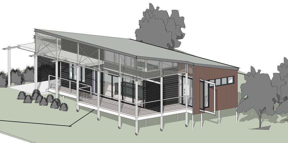 2 Bedroom 'Granny Flat' - Town planning approval received, construction about to start!