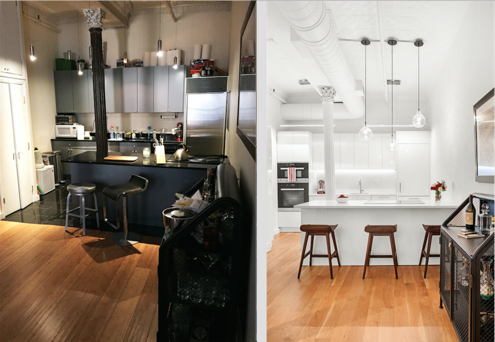 Before and after Kitchen- 477 Broome Street, Manhattan NY.png