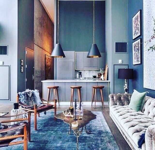 comparethetradieSmall - compact - but EPIC!! Double tap ❤️ if you like this kitchen / living room apartment design