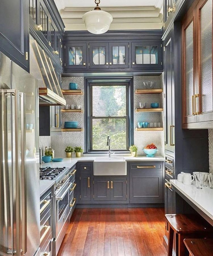 myinteriorBrass details ❤️ follow @bertazzoniitalia for more kitchen inspo!