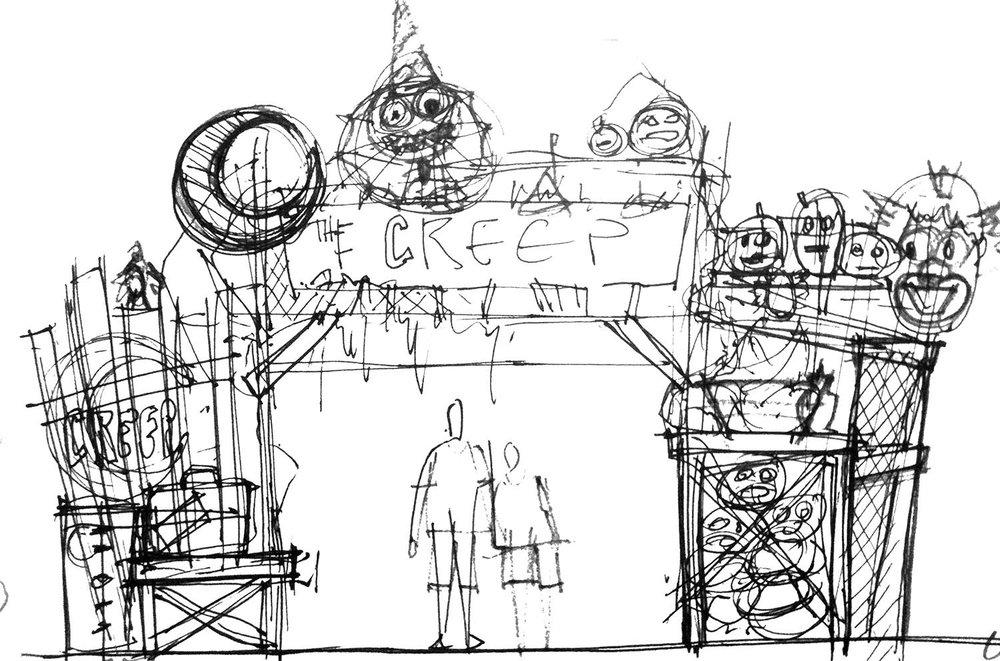 Initial Napkin Sketch