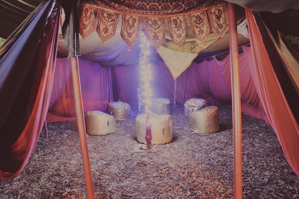 Gypsy-tent-green-room-1024x681 copy.jpg & Luxury Camping Locations NZ | Cabin Fever