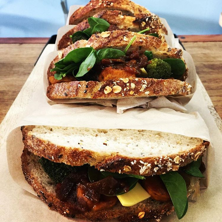 Sadie Black vegan toasties
