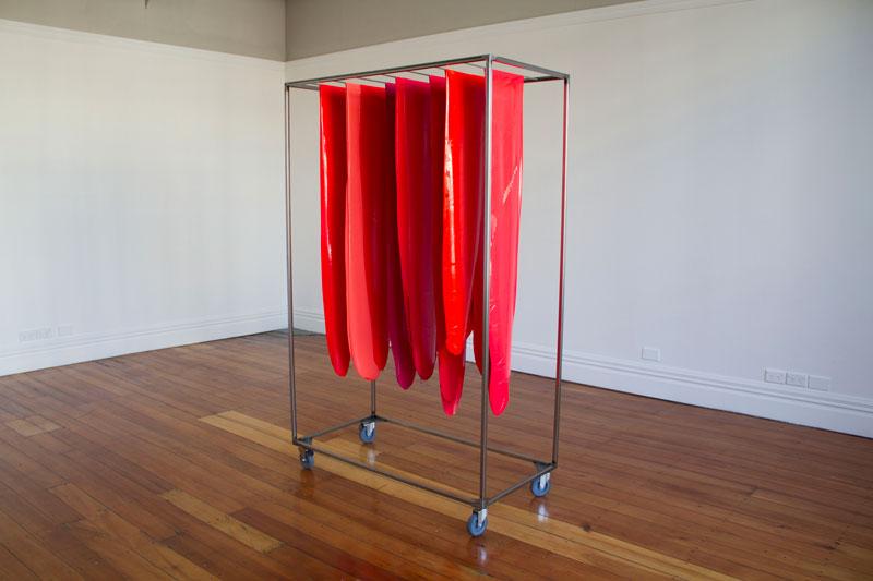 Qualia   760-620λ , Enjoy Public Gallery, 2014