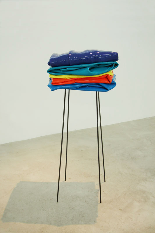 Stack  in  Solid Colour,  Trish Clark Gallery, 2015