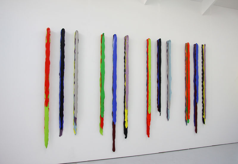 Arrangement for Fifteen Colours In Two Parts  (variation two) 2012